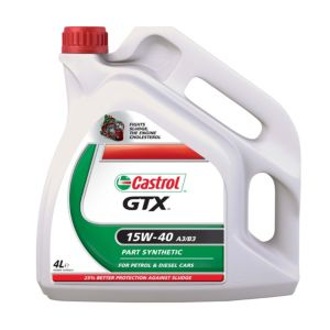 View Castrol GTX 15W40 Type Engine Oil 4L details