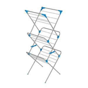 Image of Minky 3 Tier Silver effect Airer 15m