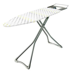 View Minky White & Yellow Ironing Board details