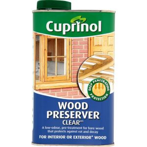 View Cuprinol Clear Wood Preserver 1L details