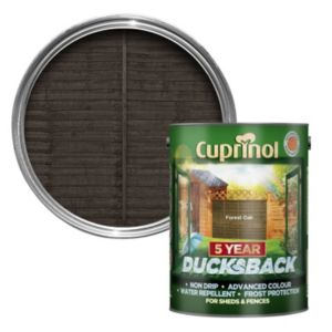 Image of Cuprinol 5 Year Ducksback Forest oak Shed & fence treatment 5L