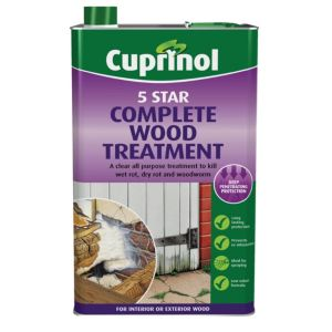 View Cuprinol 5 Star Clear Wood Treatment 1L details