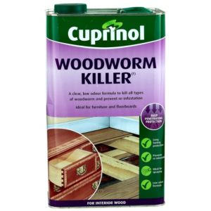 View Cuprinol Clear Woodworm Killer 5L details