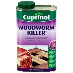 View Cuprinol Clear Woodworm Killer 1L details