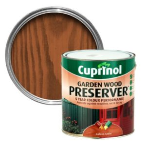 View Cuprinol Golden Cedar Matt Wood Preserver 4L details