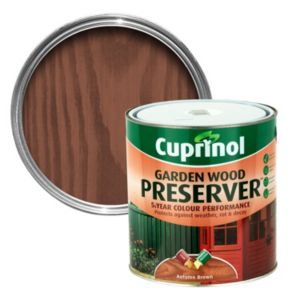 View Cuprinol Autumn Brown Matt Wood Preserver 4L details