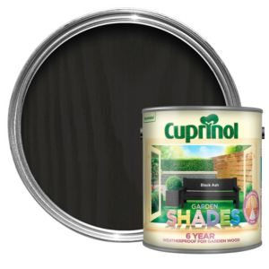 View Cuprinol Garden Shades Black Ash Wood Paint 2.5L details