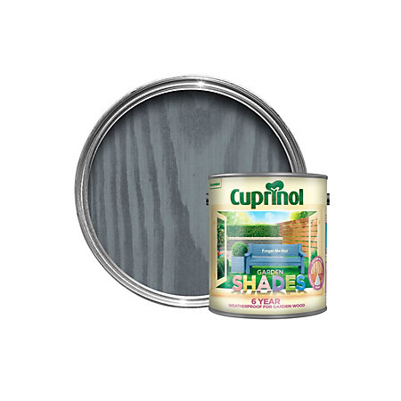 Cuprinol Garden Shades Forget Me Not Matt Wood Paint 2 5l Departments Diy At B Q