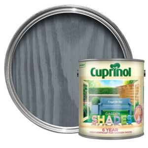 View Cuprinol Garden Shades Forget Me Not Matt Woodstain 2.5L details