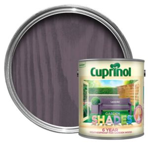 View Cuprinol Garden Shades Lavender Matt Woodstain 2.5L details