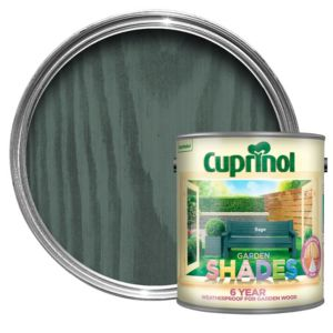 View Cuprinol Garden Shades Sage Wood Paint 2.5L details