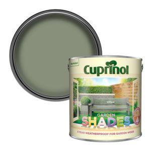 Cuprinol Garden Shades Willow Matt Wood Paint 2 5l Diy At B Q
