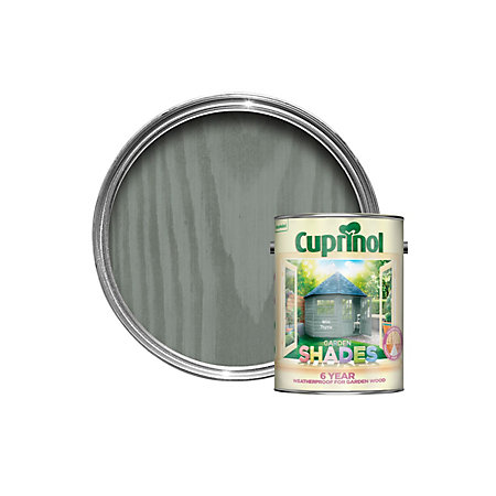 Cuprinol Garden Shades Wild Thyme Matt Wood Paint 5l Departments Diy At B Q