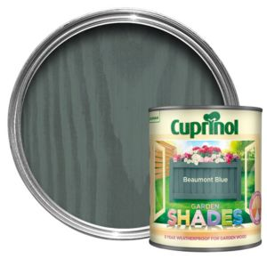 View Cuprinol Garden Shades Beaumont Blue Matt Woodstain 1L details