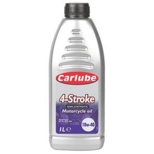 Image of Carlube 10W40 Petrol Motorcycle Engine Oil 1L