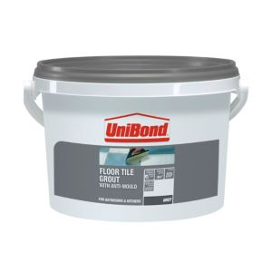 View Unibond Grey Floor Tile Grout (W)3.75kg details