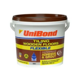 View Unibond Grey Flexible Ready Mixed Floor Tile Adhesive & Grout 7.1 kg details