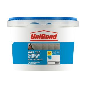 View Unibond White Extra Strong Ready Mixed Wall Tile Adhesive & Grout 1.38 kg details