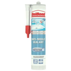 View Unibond Anti-Mould Shower & Bathroom Translucent Sealant 300 ml details
