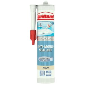 View Unibond Anti-Mould Bathroom & Kitchen Ivory Sealant 300 ml details