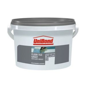 Image of UniBond Charcoal Ready mixed grout (W)3.75kg