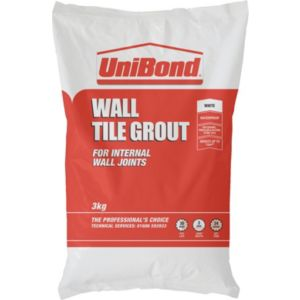 View Unibond White Powder Grout (W)3kg details