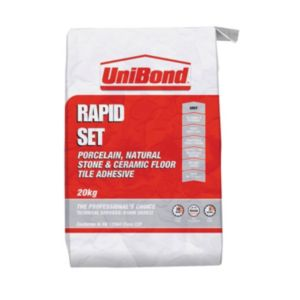 View Unibond Rapid Set Powder Wall & Floor Tile Adhesive 20kg details