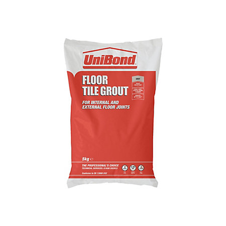 Unibond Powder Grout Grey 5000g Departments Tradepoint