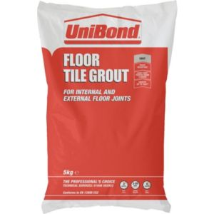 View Unibond Rapid Set Grey Powder Grout (W)5kg details