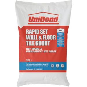 View Unibond Rapid Set White Powder Grout (W)3kg details