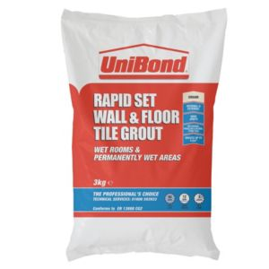 View Unibond Rapid Set Cream Powder Grout (W)3kg details