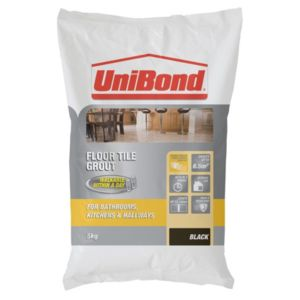 View Unibond Black Powder Grout (W)5kg details