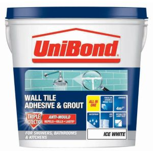 View Unibond Ice White Ready Mixed Wall Tile Adhesive & Grout 6.4 kg details