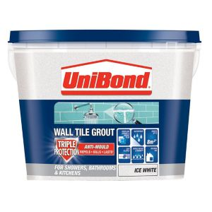 Image of UniBond Ice white Grout 1.38kg
