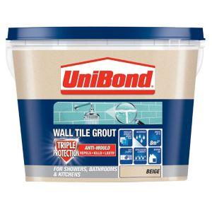 Image of UniBond Beige Grout 1.38kg