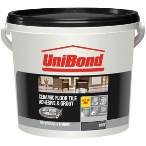 View Unibond Ready Mixed Floor Tile Adhesive & Grout 7.2kg details