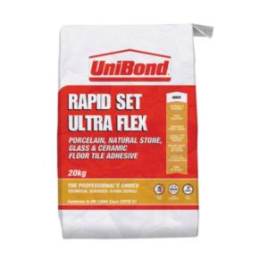View Unibond Ultra Flex White Floor & Wall Adhesive (W)20kg details