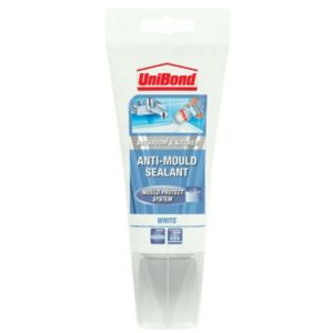 View Unibond White Antimould Sanitary & Kitchen Sealant 150ml details