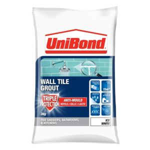 View Unibond Ice White Powder Grout (W)3kg details