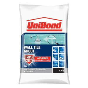 View Unibond Black Powder Grout (W)3kg details