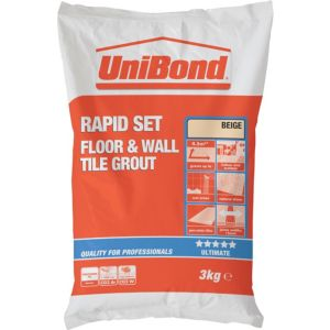 View Unibond Beige Powder Grout (W)3kg details