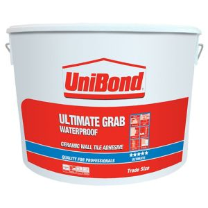 Image of UniBond Ready mixed Beige Wall Tile Adhesive 13.1kg