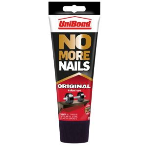 Image of UniBond No more nails White Grab adhesive 180ml