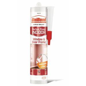 Image of UniBond Perfect finish White Acrylic-based General-purpose Sealant 300ml