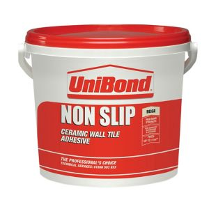 Image of UniBond Non slip Ready mixed Beige Wall Tile Adhesive 14kg