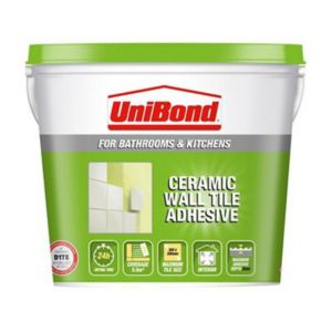 Image of UniBond Ready to use Wall tile adhesive Beige 7.4kg