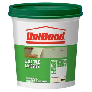 Image of UniBond Ready mixed Beige Wall Tile Adhesive 1.6kg