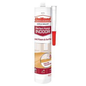 Image of UniBond Perfect finish White Floor Sealant 300ml