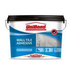 Image of Unibond UltraForce Ready mixed Beige Wall Tile Adhesive 13.8kg