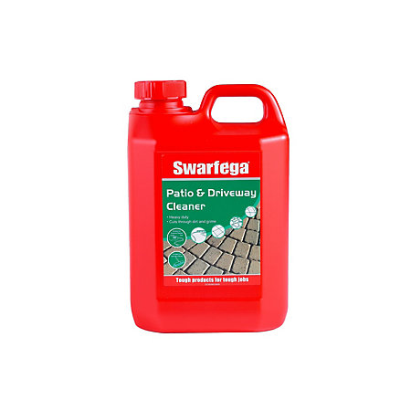 Swarfega patio drive patio driveway cleaner 2000 ml for Driveway cleaning chemicals